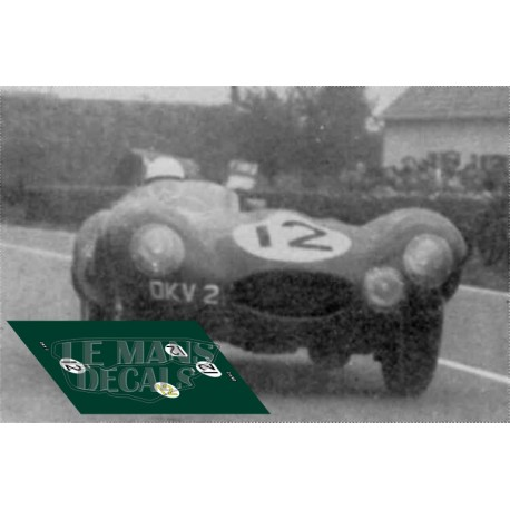 Jaguar D Type - Le Mans 1954 nº12