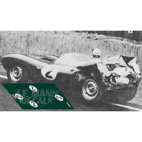 Jaguar D Type - Le Mans 1956 nº2
