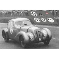 Bentley Embiricos - Le Mans 1950 nº12