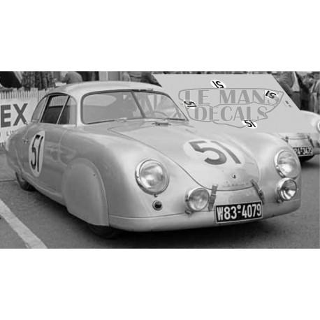 Porsche 356  - Le Mans 1952 nº51
