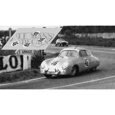 Porsche 356  - Le Mans 1953 nº46