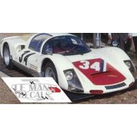 Porsche 906 - Le Mans 1966 nº34