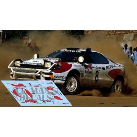 Toyota Celica ST185 - Rally Kenia 1992 nº8