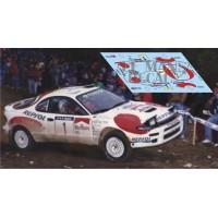 Toyota Celica ST185 - Rallye Cataluña 1992 nº1