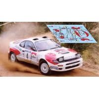 Toyota Celica ST185 - Rallye Cataluña 1992 nº4