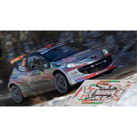 Peugeot 207 S2000 - Rally Montecarlo 2016 nº57