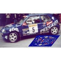 Peugeot 106 Maxi  - Rally Aviles nº5