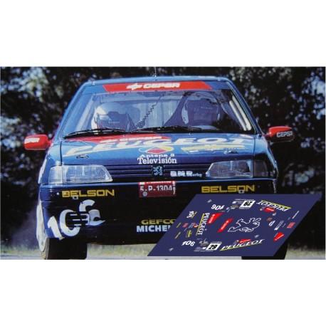 Peugeot 106 Maxi  - Rally Catalunya nº29