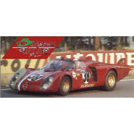 Alfa Romeo 33/2 - Le Mans 1969 nº38