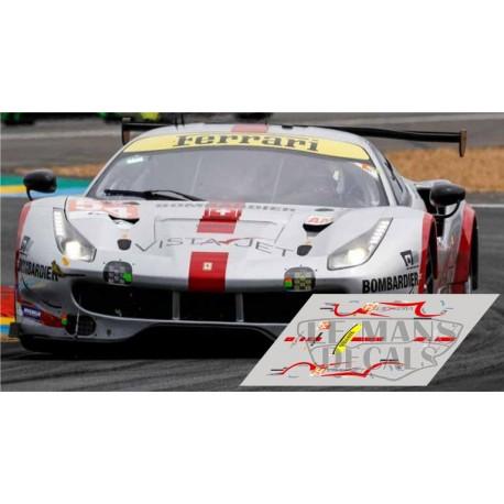 Ferrari 488 GTE - Le Mans 2018 nº54