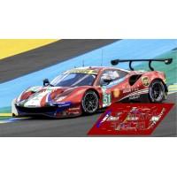 Ferrari 488 GTE - Le Mans 2018 nº51