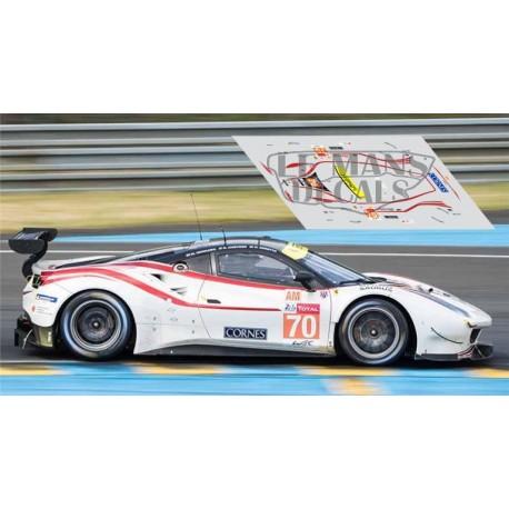 Ferrari 488 GTE - Le Mans 2018 nº70