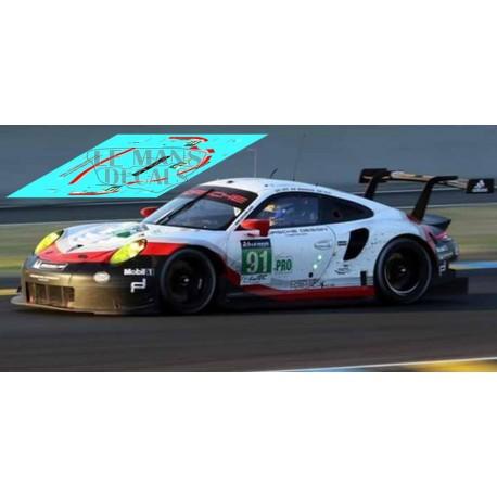 Porsche 991 - Le Mans 2017 nº91
