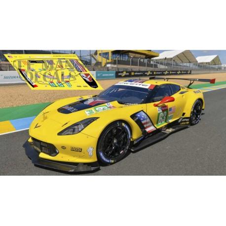 Corvette C7R - Le Mans 2019 nº63