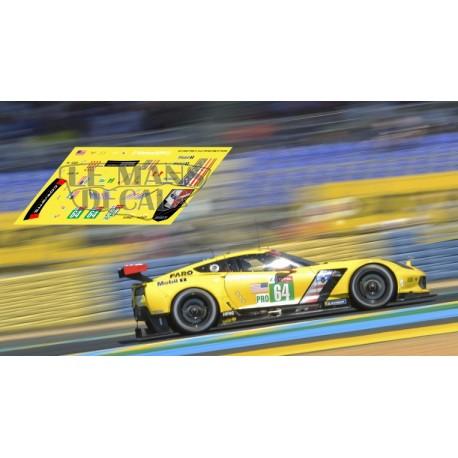Corvette C7R - Le Mans 2019 nº64
