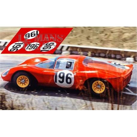 Ferrari Dino 206S - Targa Florio 1966 nº196