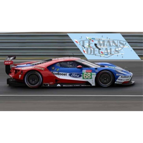 Ford GT GTE - Le Mans 2019 nº68