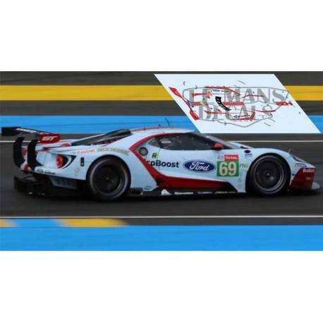 Ford GT GTE - Le Mans 2019 nº69