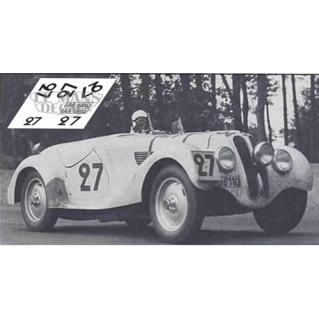 BMW 328 Roadster - Le Mans 1939 nº27