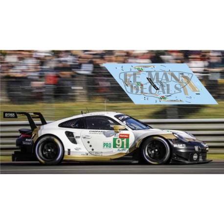 Porsche 911 RSR - Le Mans 2019 nº91