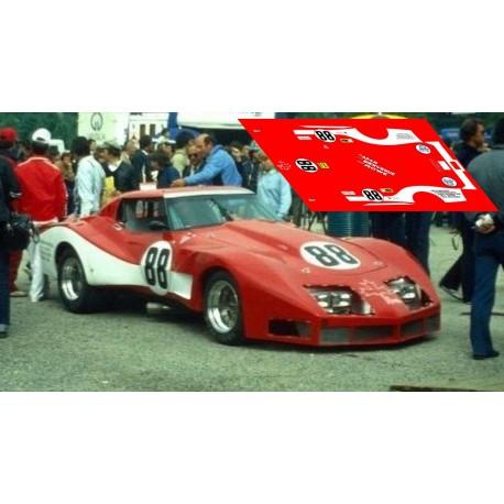Corvette C3 Stingray - Le Mans Test 1980  nº88