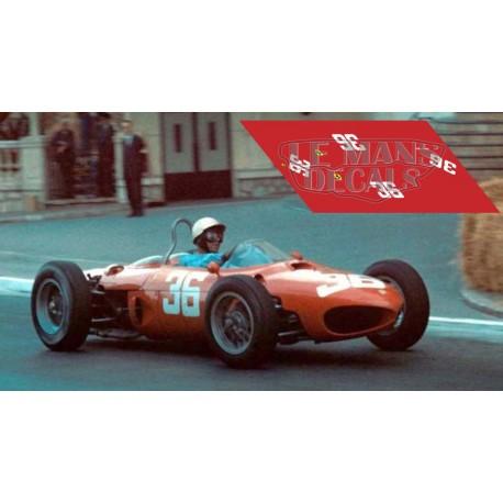 Ferrari 156 F1 - GP Monaco 1962 nº36