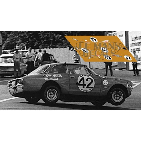 Alfa Romeo 2000 GTAm - Spa 1971 nº42