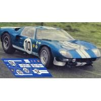 Ford GT40 - Sebring / Test Le Mans 1965 nº 10