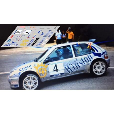 Citroën Saxo Kit Car - Rally Villajoyosa 2002 nº4