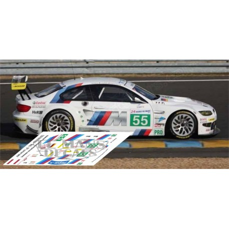 BMW M3 E92 GT2 - Le Mans 2011 nº55