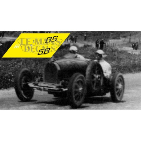 Bugatti T35B - Targa Florio 1928 nº58