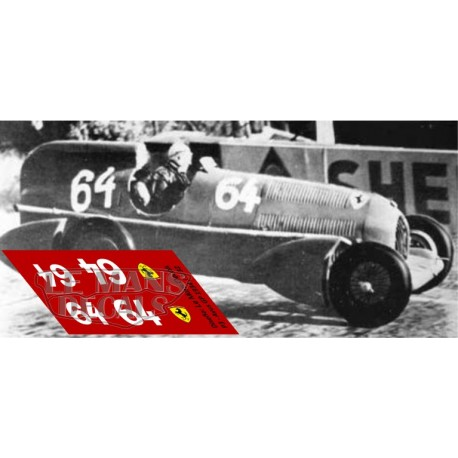 Alfa Romeo P3 Streamliner - GP Avus 1934 nº64