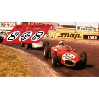 Ferrari 156 F1 - French GP 1961 nº50 decals