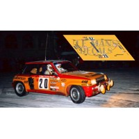 Renault 5 Turbo  - Rallye Montecarlo 1980 nº20