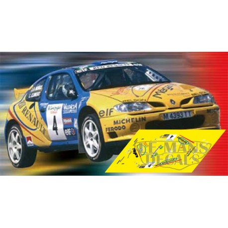 Renault Megane Maxi - Rally Canarias 1998 nº4