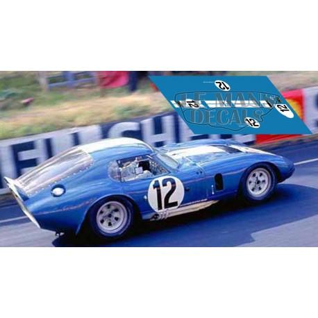 AC Cobra Daytona - Le Mans 1965 nº12