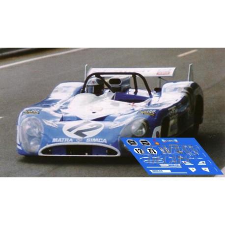 Matra MS670  - Le Mans 1972 nº12