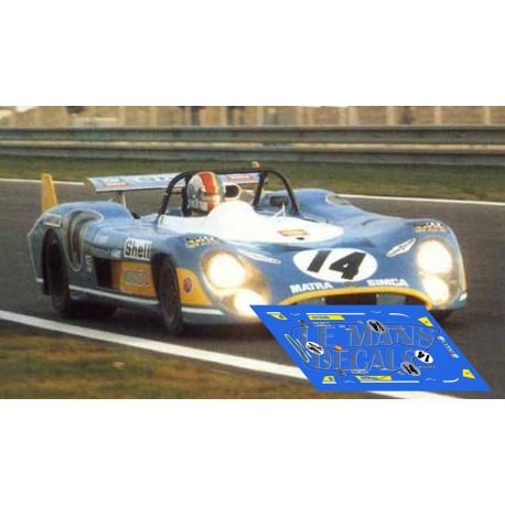 Matra MS670  - Le Mans 1972 nº14