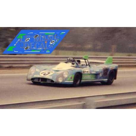 Matra MS670  - Le Mans 1972 nº15