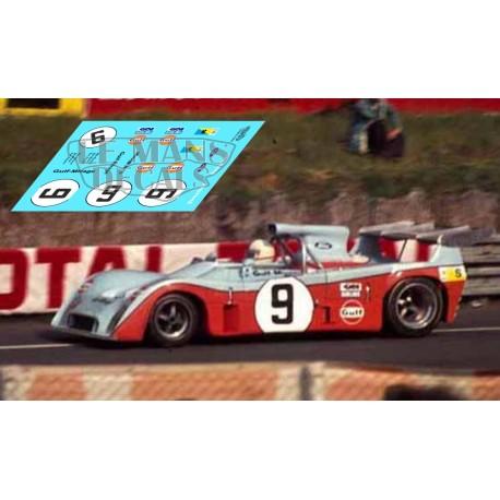 Mirage M6 - Le Mans 1973 nº9