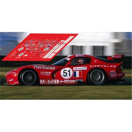 Chrysler Viper GTS - Le Mans 2000 nº51
