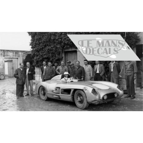 Mercedes 300 SLR - Targa Florio 1955 Test