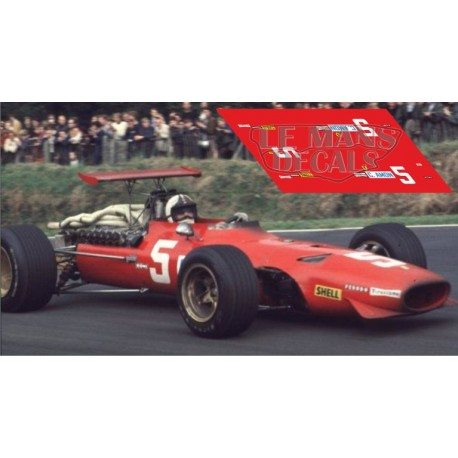 Ferari 312 F1 - British GP 1968 nº5