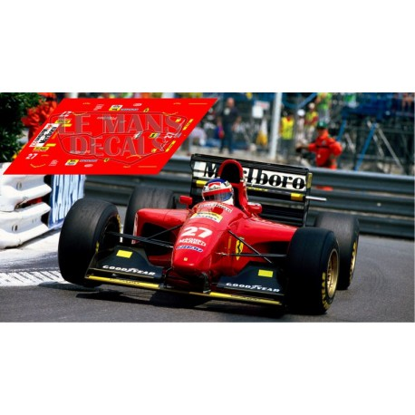 Ferrari 412 T1B  - Monaco GP 1994 nº27