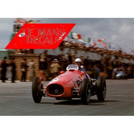 Ferrari 500 F2 - GP Inglaterra 1953  nº5