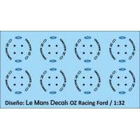 OZ Racing Wheels Type 1 - 4 screws