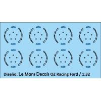 OZ Racing Wheels Ford - 5 screws - Black