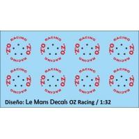 OZ Racing Wheels Type 1 - 5 screws - Red