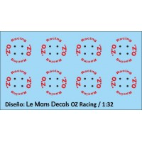 Llantas OZ Racing Tipo 1 - 4 tornillos