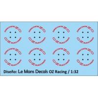 Llantas OZ Racing Tipo 3 - 4 tornillos